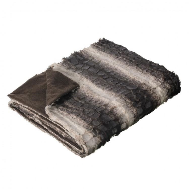 Manta sofá modelo norway gris (170x130)