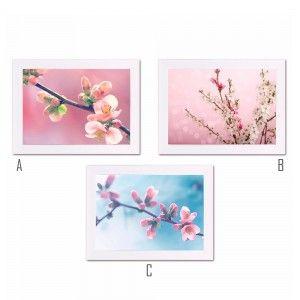 Cuadro con Marco fotoimpresión Flores (40x1.50x30 cm)