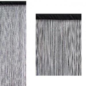 Curtain-wire color black (90x200)