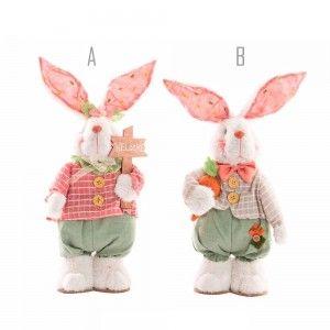Figura conejo de Poliéster (15x9x32 cm)