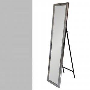 Espejo de pie plata en polietileno (37x2x157)