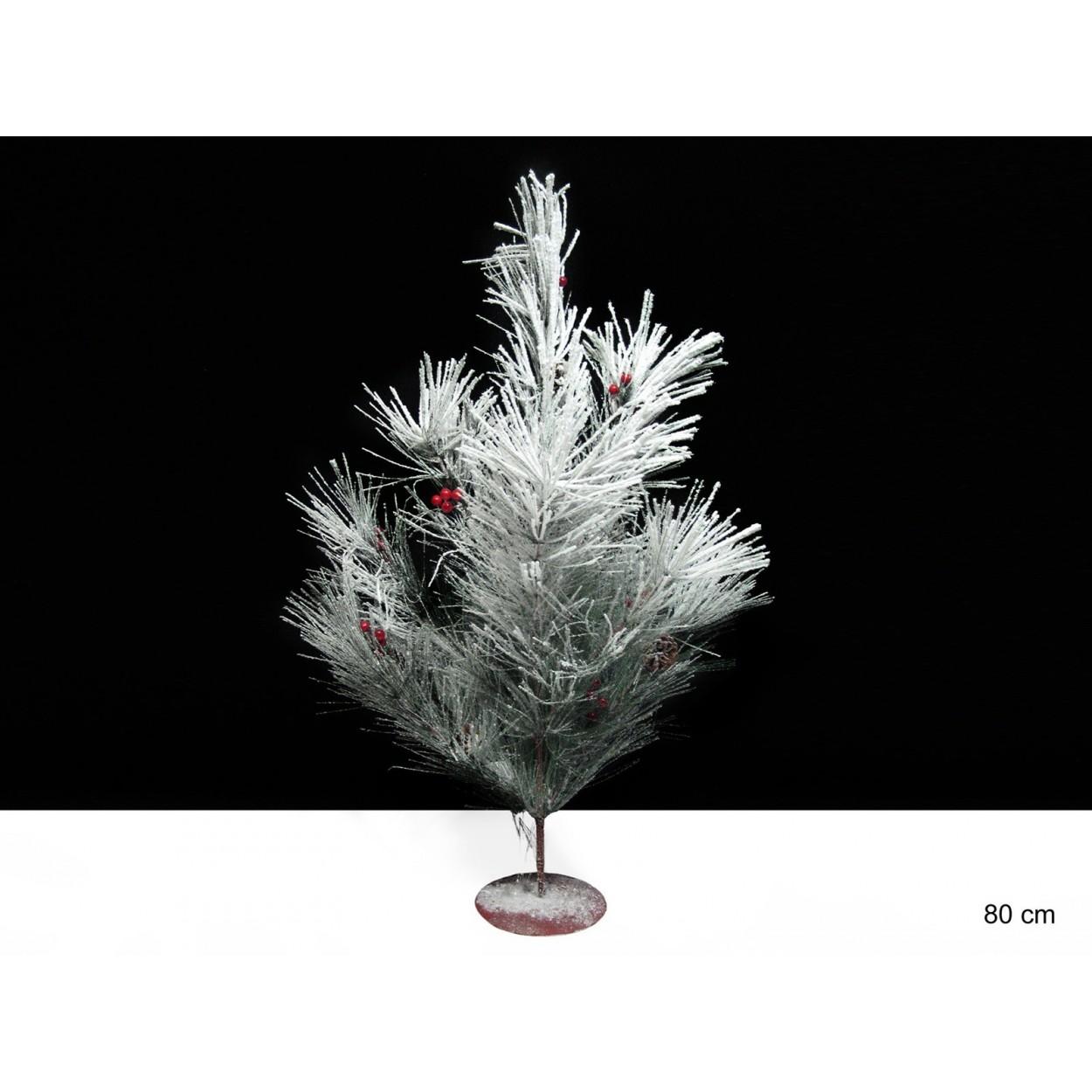 Comprar arbol blanco de navidad con bolas hogar y mas - Comprar arboles de navidad decorados ...