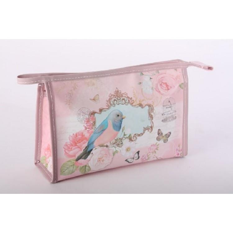 Neceser de PVC - Modelo pájaro (24x7x17 cm)