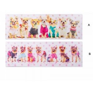 Model canvas dogs (140x45x4)