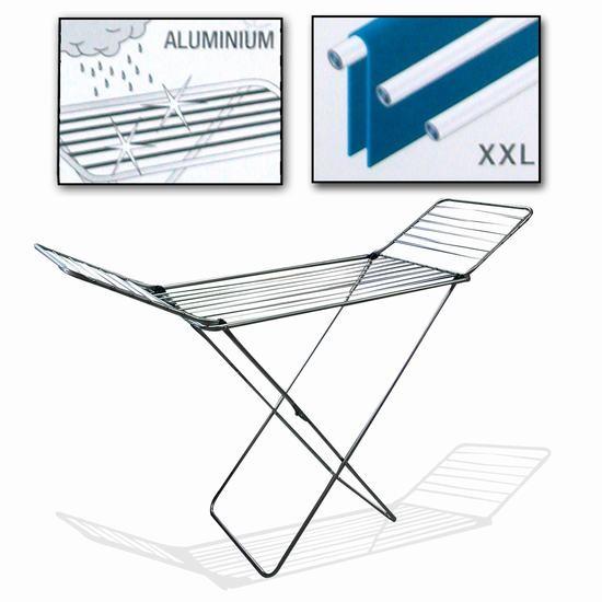 Tendedero plegable de aluminio