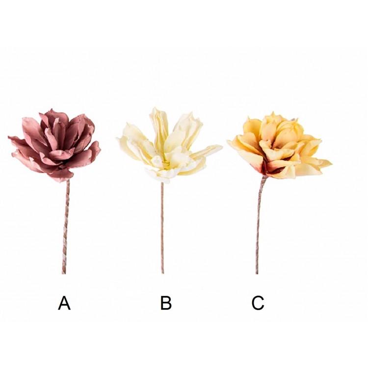 Flor artificial - Eva acolchada (70 cm)