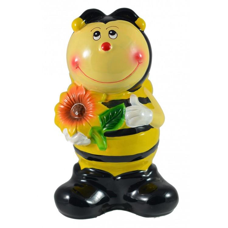 Hucha abeja de cerámica (16 x10x9 cm)
