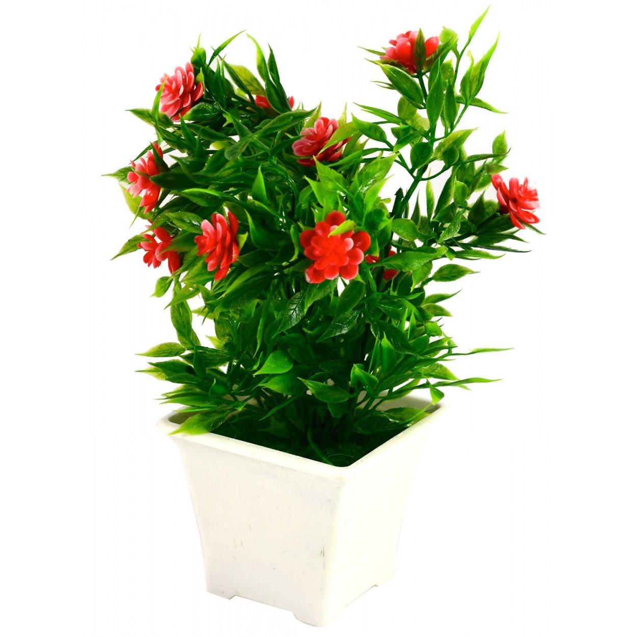 Planta artificial con maceta 20x17 cm hogar y m s - Planta artificial ...
