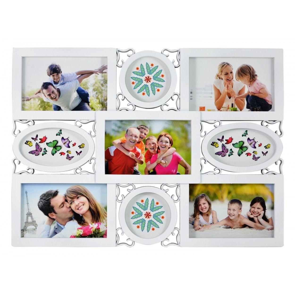 Marco multifotos de PVC- Color blanco , Hogar y Mas - Hogar y más
