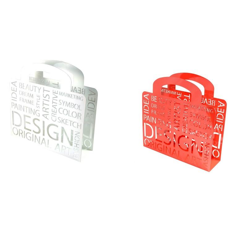 Revistero de Metal 2 colores (34x35x10 cm)