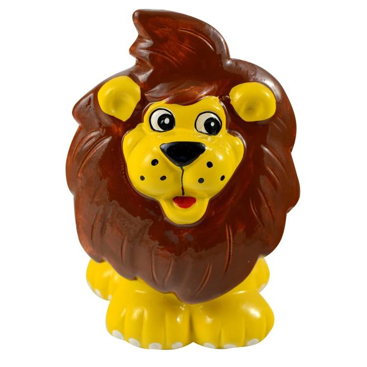 Hucha infantil de cerámica - Modelo león (12.5x9x9.5 cm)