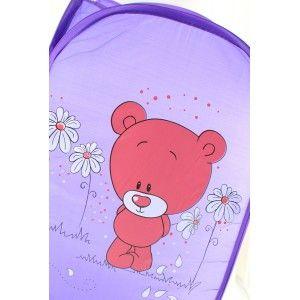 Basket child portrait - Model teddy bear (52x28x29.5 cm)