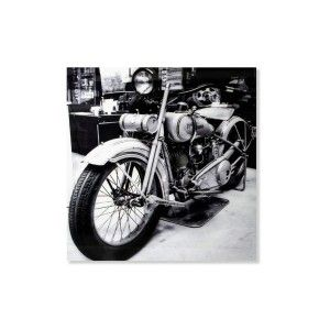 Box fotoimpresión - Model bike (120x120 cm)