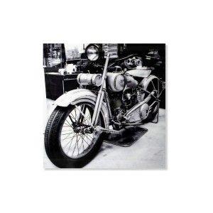 Cuadro fotoimpresión - Modelo moto (120x120 cm)