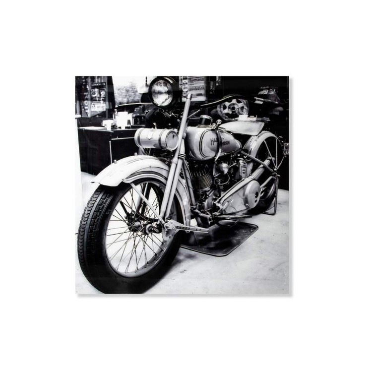Cuadro fotoimpresión -  Moto Harley Davidson  (120x120 cm)