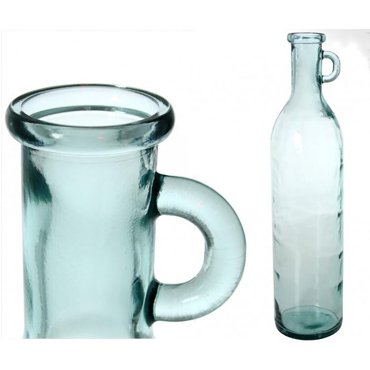 Botella de Cristal con Asa 75 cm