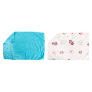 Set of 2 cloths Microfiber (40x60 cm) Owls