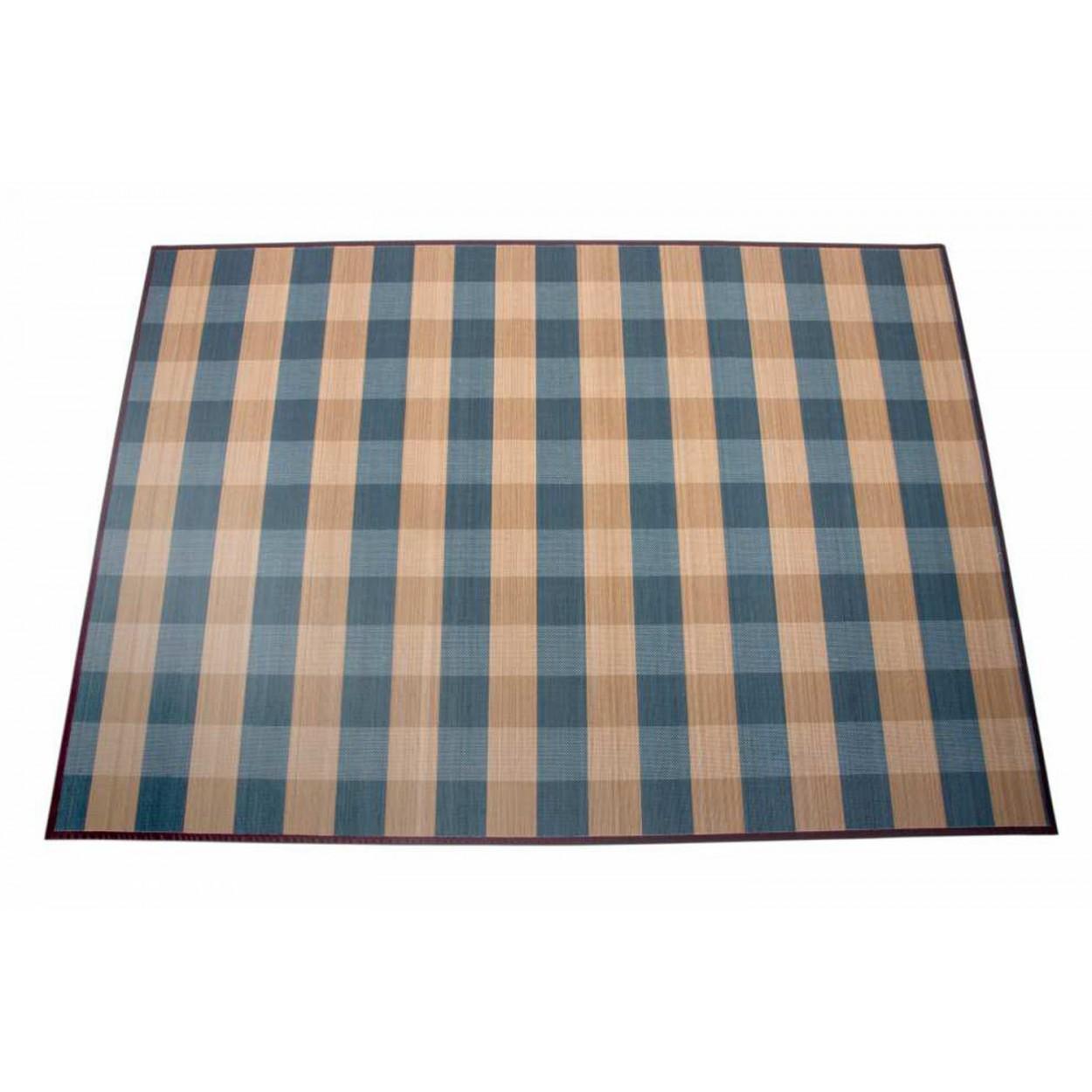 Comprar alfombra de bambu modelo cuadros e hilo trenzado for Alfombras de hilo