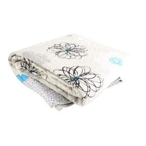 Bed cover Polyester (240x260 cm) 285 Gr. Flowers