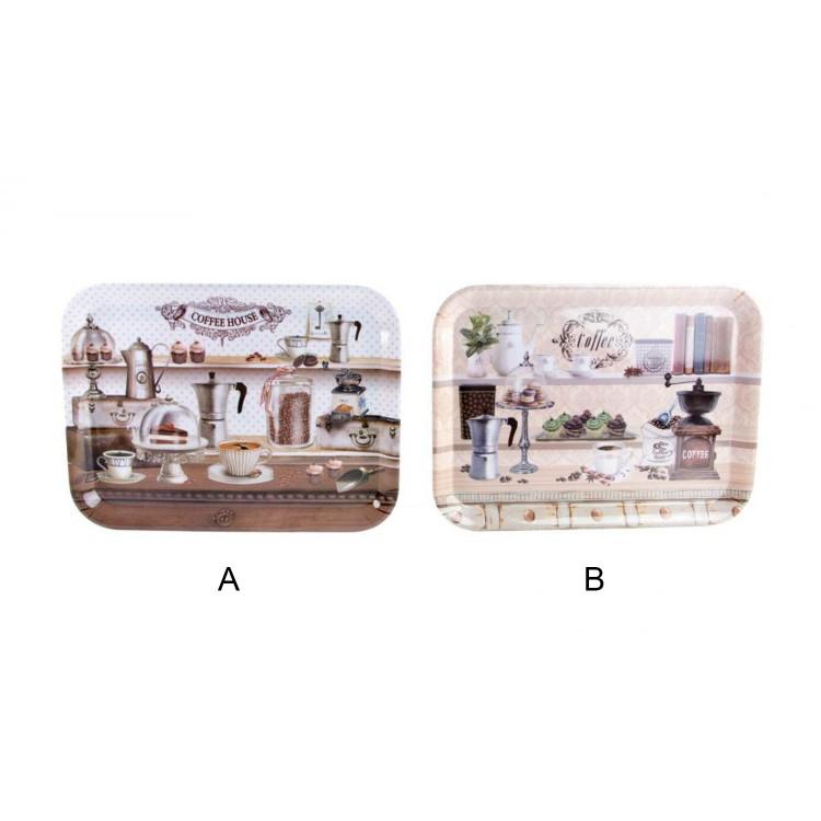Bandeja Acrílica (43x32 cm) Cofee 2 modelos