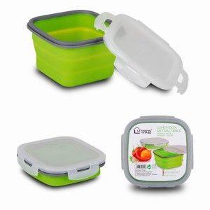 Airtight container Foldable 800 ml (8.5x14x14 cm)