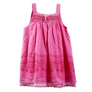 Girl dress Pink ribbon bow (Sizes 12,18,24,36 months)
