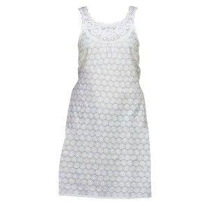 Vestido Rueca de color Blanco (Tallas S,M,L,XL)