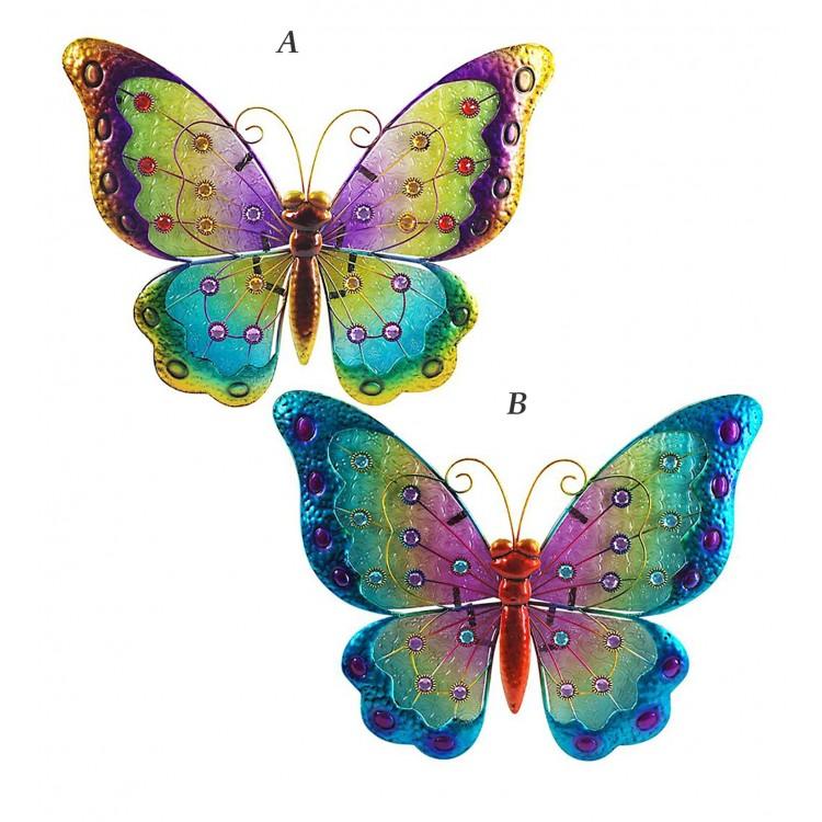 Mariposa vidriera (42.5x34cm)