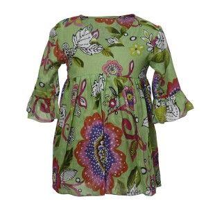 Vestido verde talla 8