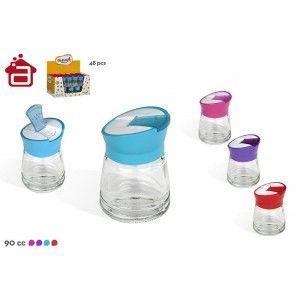 Salt shaker glass with...