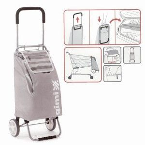 Shopping cart Grey 45 L.