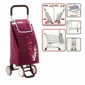 Shopping cart Purple 56 L.