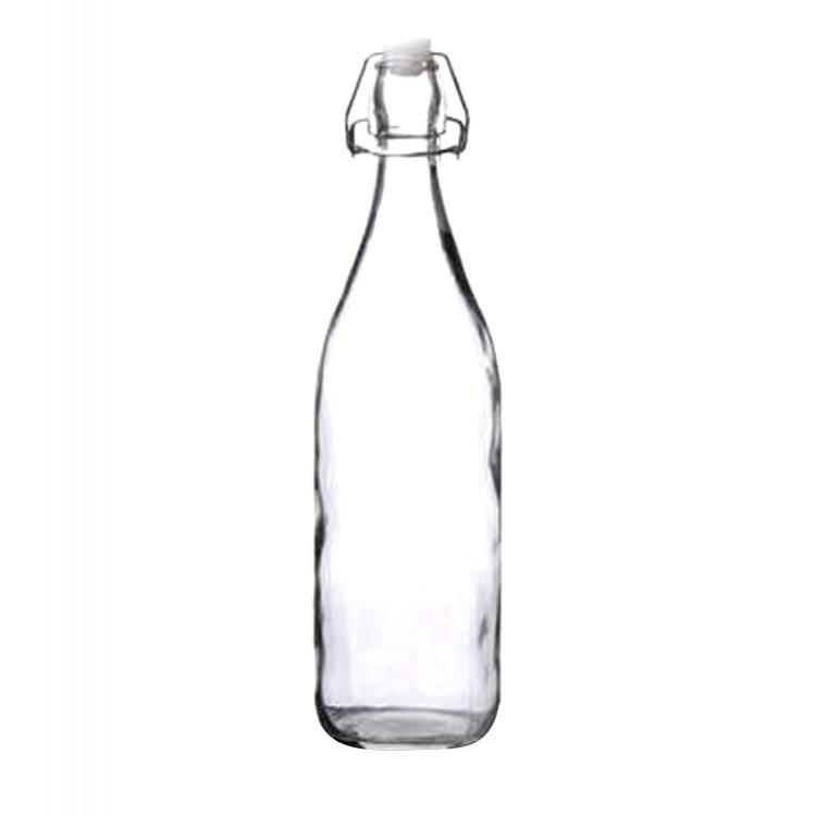 Botella de Cristal 0.5 L transparente