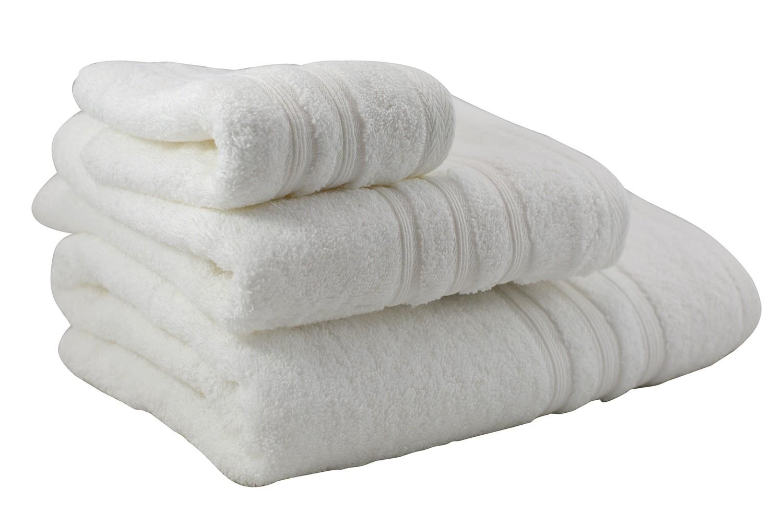 Toalla de ducha de algodón blanca (70X140)