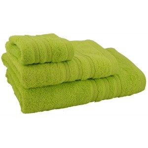 Towel shower cotton green (70x140)