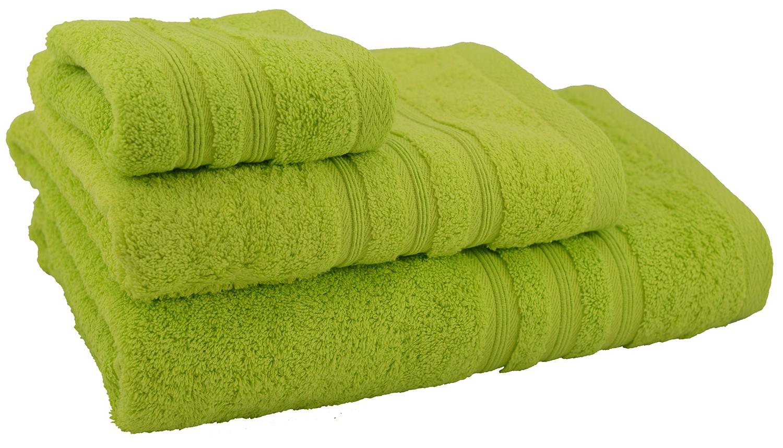 Towel shower cotton green (70x140)