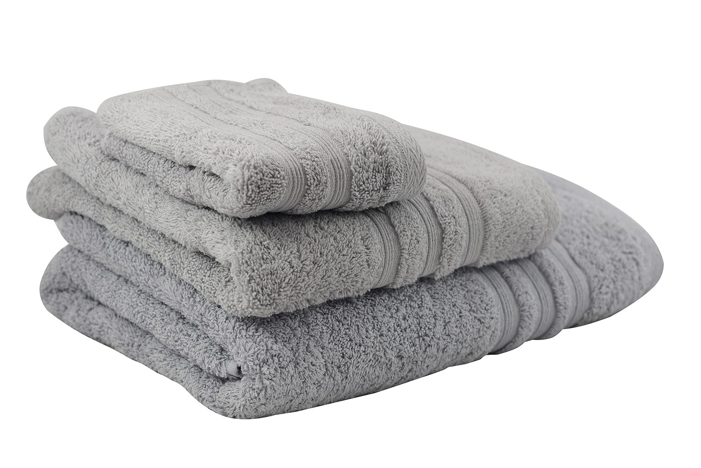 Toalla de ducha de algodón gris (70x140)