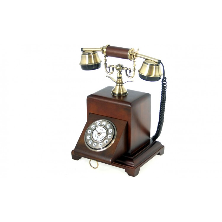 Teléfono Vintage de madera
