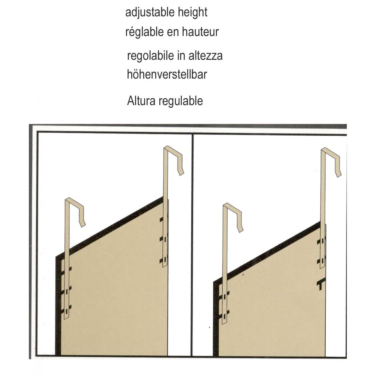 Hogar y mas espejo para puerta fucsia sin agujeros for Espejo para pegar en puerta