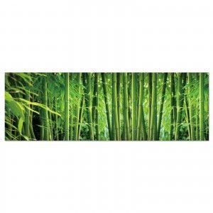 Box fotoimpresionado on canvas with wood frames, model bamboo