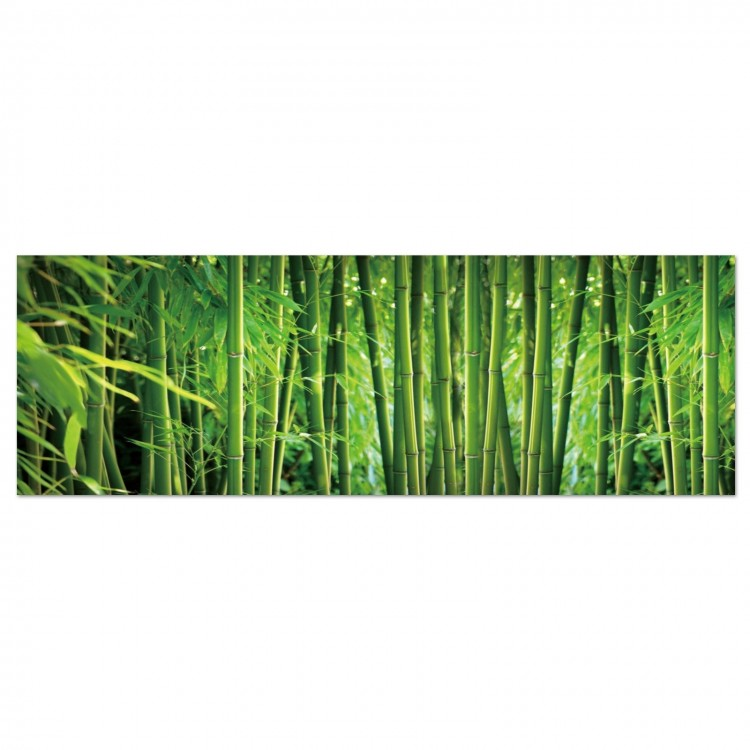 Cuadro fotoimpresionado en lienzo, con bastidores de madera, modelo bambú con perspectiva original Hogar y mas