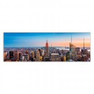 Lens takes pictures fotoimpresión on canvas, model New York