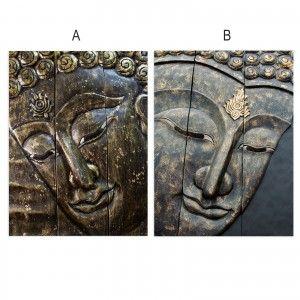 Cuadro fotoimpresión sobre lienzo, modelo Buda