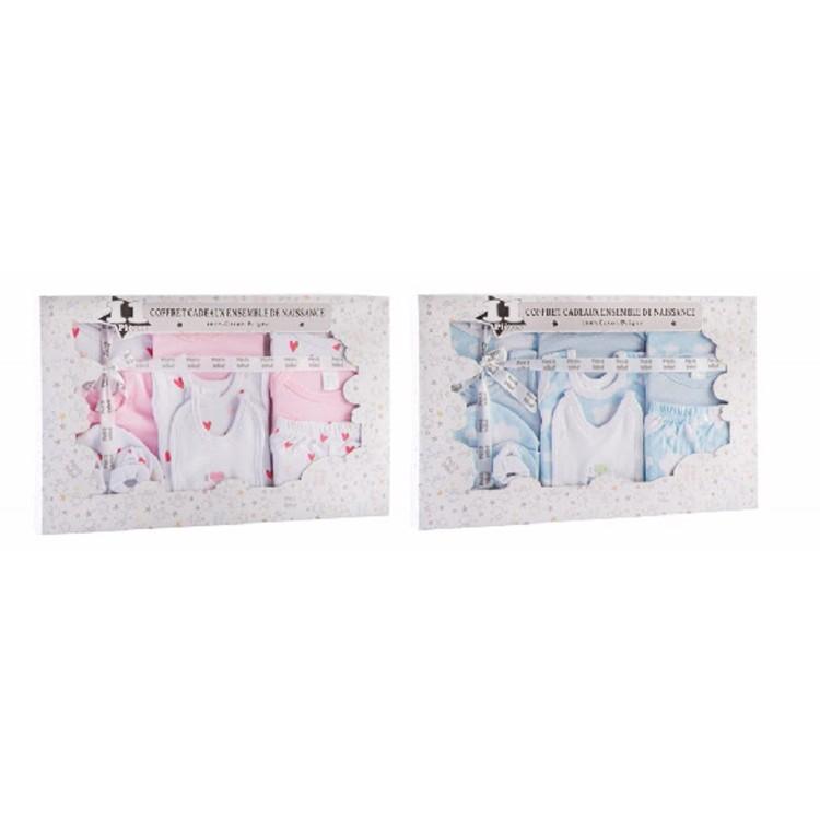 Set de ropa para bebé en algodón, de Hogar y Mas
