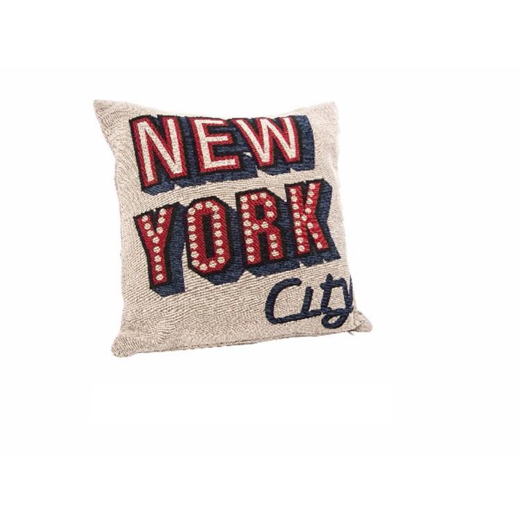 Coj n cuadrado modelo new york hogar y m s - Cojin cuadrado suelo ...