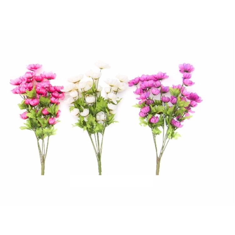 Ramo de flores de tela - 3 Colores