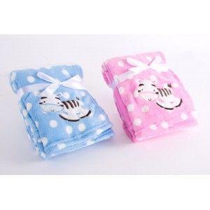 Blanket infant baby - Model Zebra