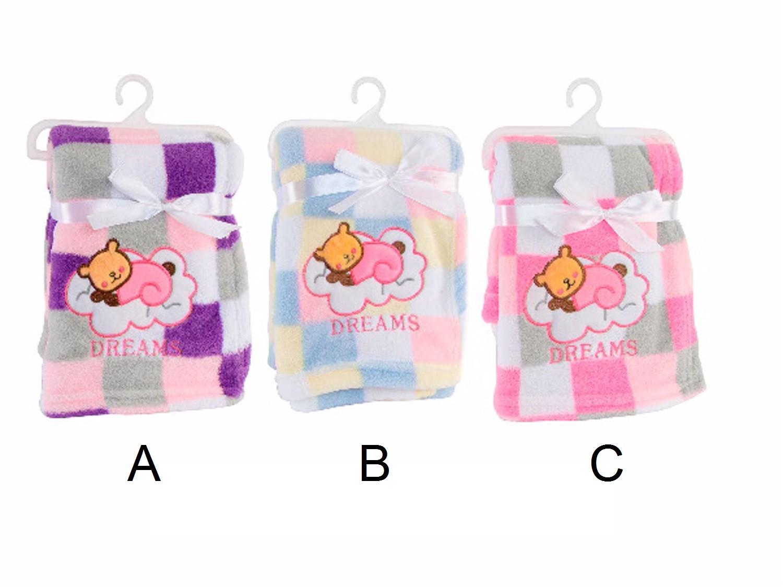 Manta infantil para bebé - 3 Modelos