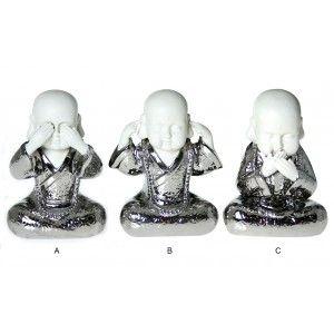 Figuras de Buda de Cerámica 3 modelos