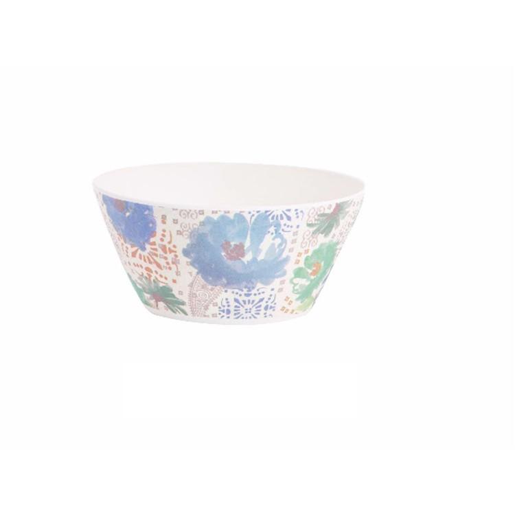 Bol para cocina de bambú reciclado - Modelo Floral